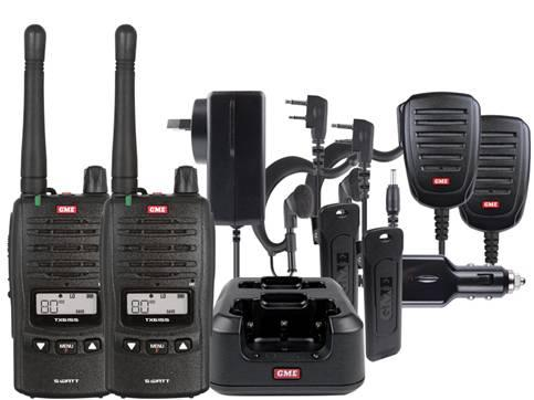 TX6155TP 5 Watt IP67 Handheld Comm-Kit